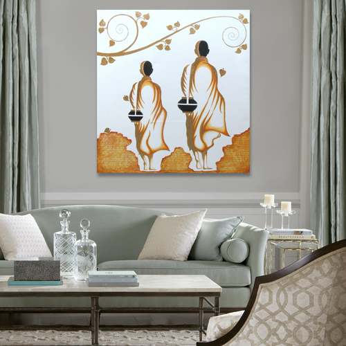 famous buddha paintings online