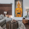 beautiful buddha paintings for living room for sale.