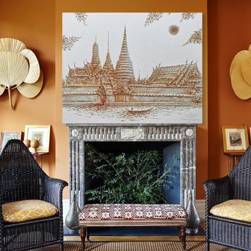 Wat Phra Kaew Thailand Art