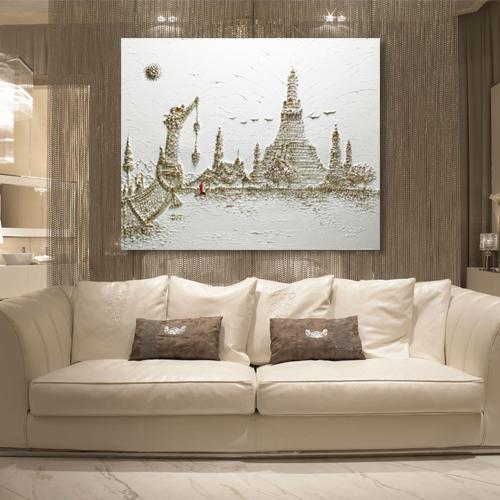 wat arun temple painting