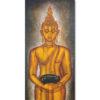 standing buddha painting thai standing buddha wall art buddha artwork buddha canvas painting buddha acrylic painting large buddha wall art beautiful buddha paintings