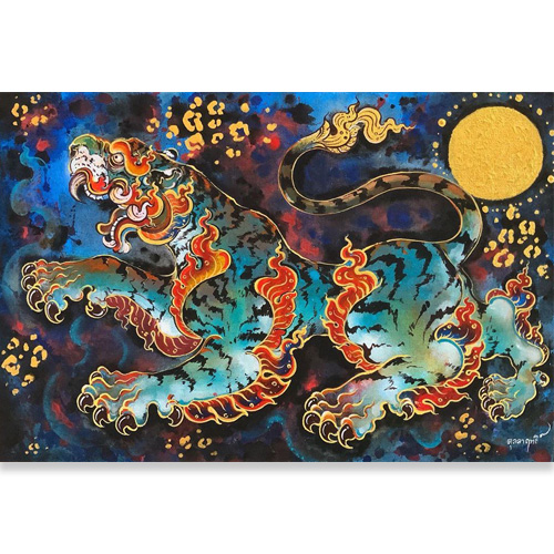 art tiger painting tiger artwork tiger wall art tiger canvas painting tiger wall decor asian tiger art abstract tiger painting chinese tiger tiger canvas wall art
