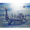 royal barge suphannahong painting suphannahong acrylic painting suphannahong royal barge thai art tradtitional thai paintings for sale thailand art 3d art
