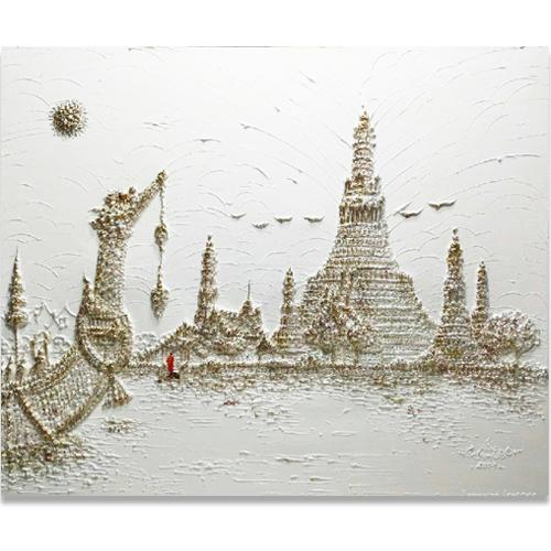 wat arun temple wat arun painting wat arun ratchawararam acrylic canvas art paintings online thailand art traditional thai paintings thai pattern art