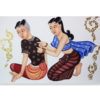 traditional thai massage painting thai painting art thai painting for sale thai painting on canvas thai painting artist thailand wall art most popular painting in thailand