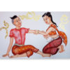 ancient thai massage painting thai painting art thai painting for sale thai painting on canvas thai painting artist thailand wall art most popular painting in thailand