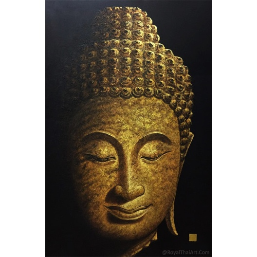 golden buddha painting buddha paintings for living room for sale online modern acrylic oil painting buy original art for sale