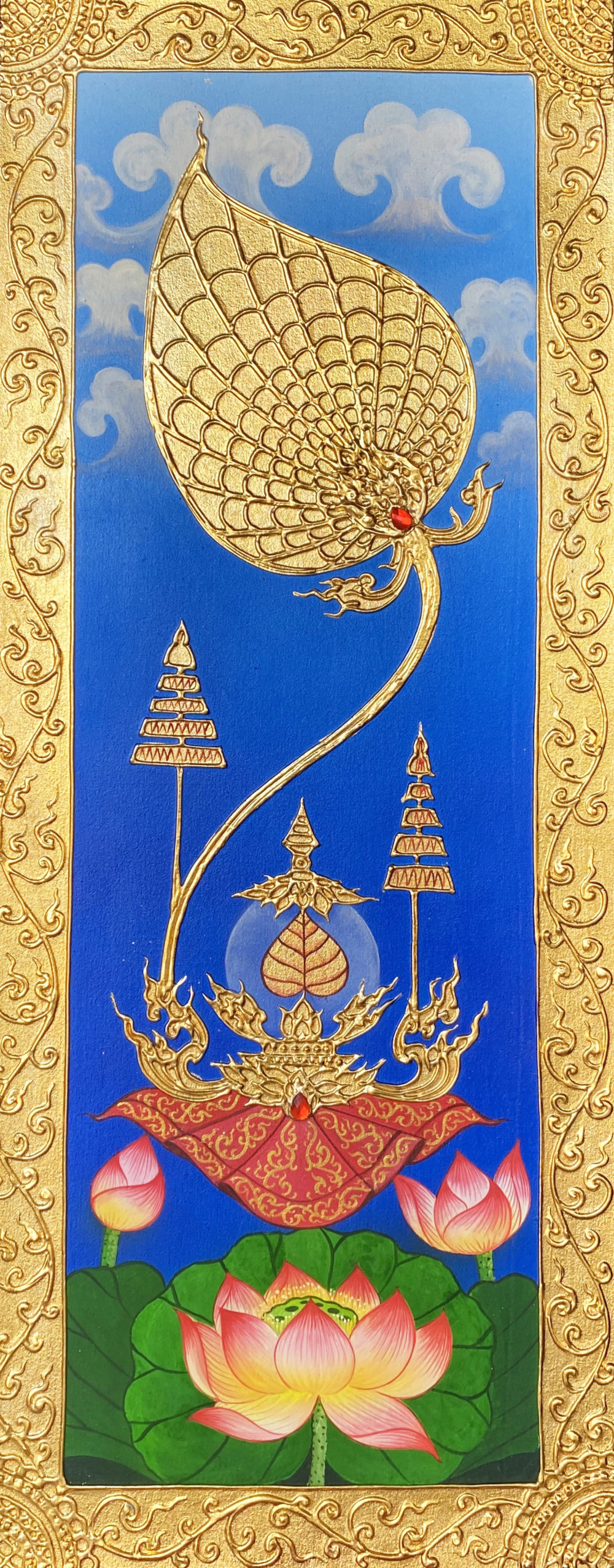 traditional thai artwork