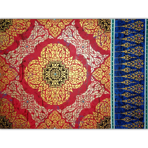 traditional thai pattern painting thai pattern traditional thai patterns thai art pattern kranok pattern thai traditional pattern