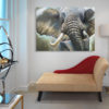 elephant painting home decor