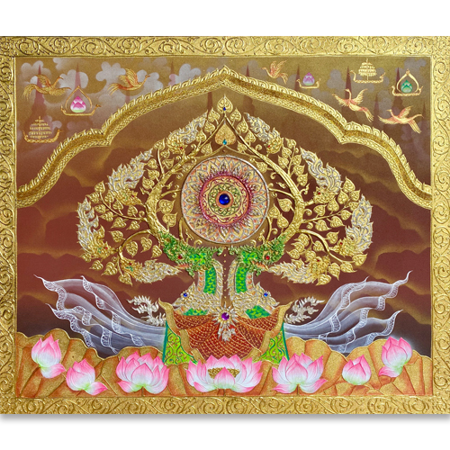 bodhi tree buddhist art bodhi tree painting bodhi tree buddhism paintings bodhi tree art bodhi tree paintings