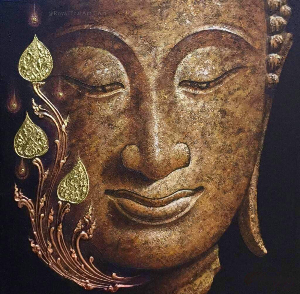 buddha face wall art painting buddha painting buddha art buddha artwork buddha canvas art buddha wall painting for living room