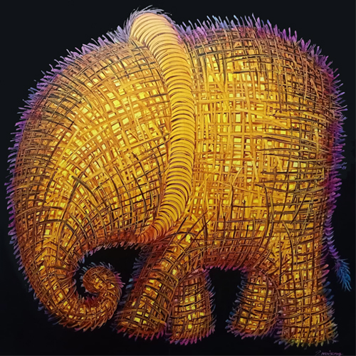 cute elephant art paintings done by elephants elephants art suda elephant painting for sale elephant art gallery thai elephant art elephant oil painting elephant arts