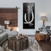 elephant wall painting for sale