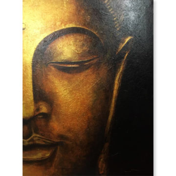 Gautam Buddha Canvas Painting Buddha Paintings For Sale