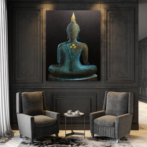 buddha art at home