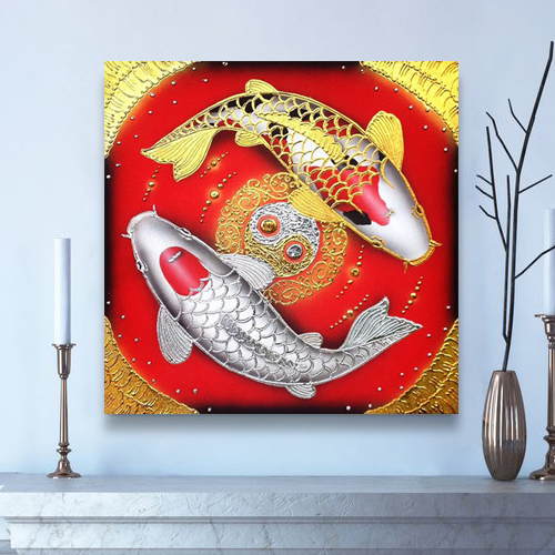 buy koi fish painting online