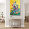 koi fish painting feng shui home decor