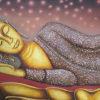 sleeping buddha images