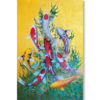 9 koi fish artwork koi fish paintings on canvas 2 koi fish painting meaning jewells art feng shui paintings koi fish artwork asian art for sale feng shui wall art