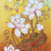 lotus painting for sale