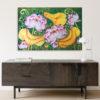buy art online lotus canvas
