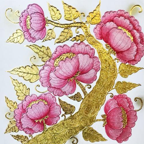 peony painting peony flower painting chinese peony painting peony art peony canvas art pink peony wall art pink peony painting large peony wall art pink peony art