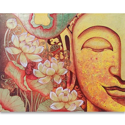buddha lotus painting buddha painting lotus painting buddha lotus canvas painting buddha and lotus art buddha artwork