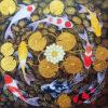 koi carp wall art koi fish painting for sale koi fish paintings on canvas acrylic koi fisg painting feng shui koi fish wall art