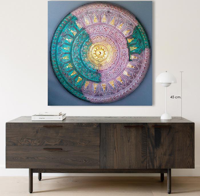 buddha mandala art for sale