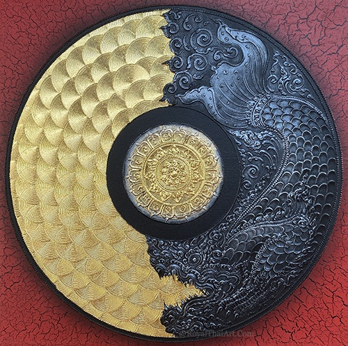 dragon mandala art mandala drawing mandala painting mandala wall art mandala artwork mandala art painting for sale mandala for home 3D mandala art large mandala wall art