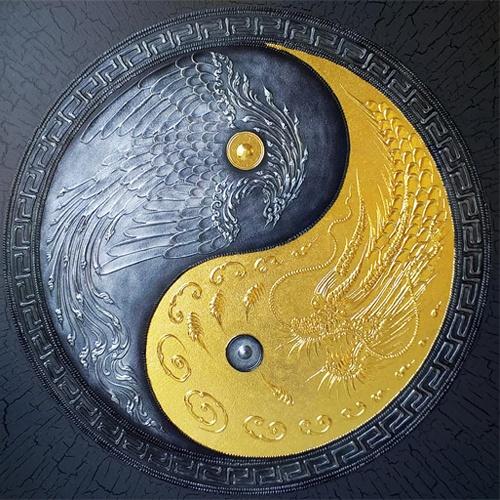 eagle asian dragon art