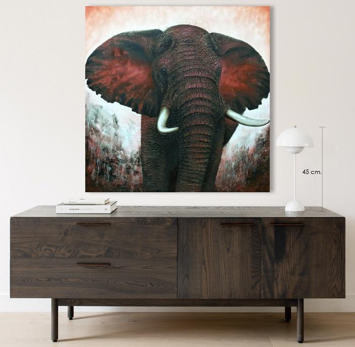 elephant wall decor home interior