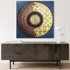 sanskrit mandala art for home