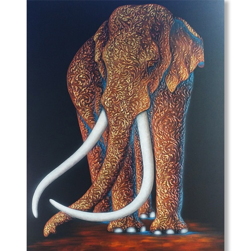 thai elephant artwork elephant painting for sale genuine elephant paintings elephants art large elephant wall art elephant wall painting elephant art gallery online