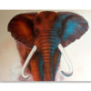 thailand elephant painting indian elephant painting african elephant art elephant wall decor for living room 3d elephant wall art colorful elephant painting
