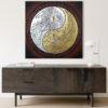 yin yang eagle dragon art for sale