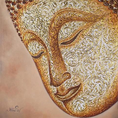 buddha face thai art buddha half face painting buddha face art buddha face painting canvas buddha painting buddha wall art buddhist art buddha wall painting buddha canvas painting