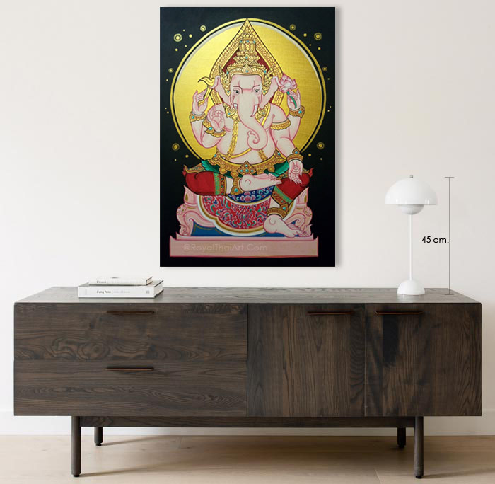 ganesh art painting home decor 2021