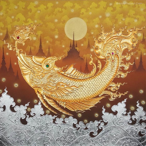 golden fish painting goldfish painting golden fish art koi fish painting fish wall art fish artwork coy fish painting abstract fish art fish paintings on canvas