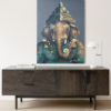 large ganesha artwork art gallery
