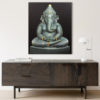 large ganesha painting art gallery