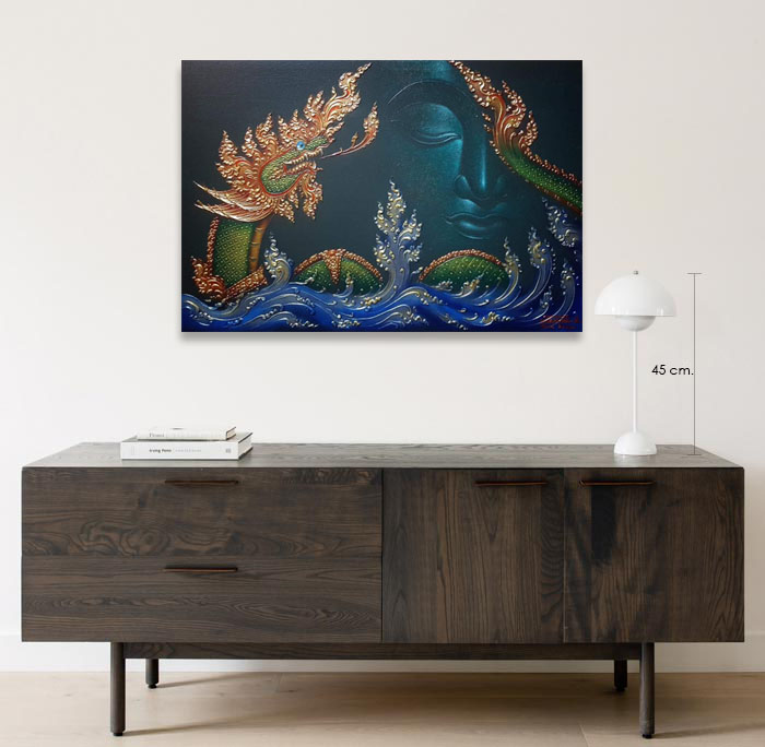 naga buddha painting for sale