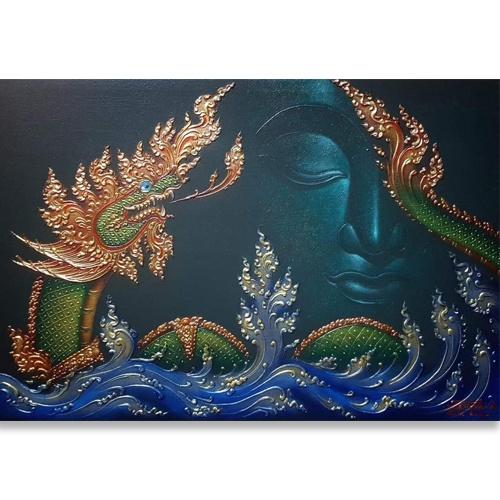 naga buddha painting naga buddha thailand naga snake phaya naga buddhist snake goddess naga thailand snake buddha painting buddha paintings for sale buddha paintings online