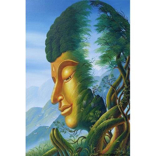 buddha peace painting buddha paintings for sale
