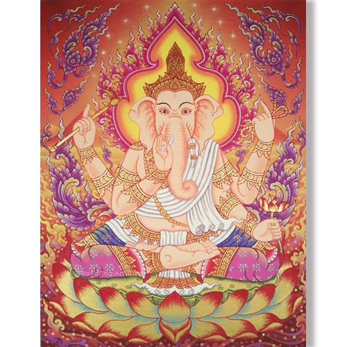 traditional ganesha painting ganesha canvas painting god ganesha ganesh art abstract ganesha hindu god ganesha ganesh wall art ganesha wall painting