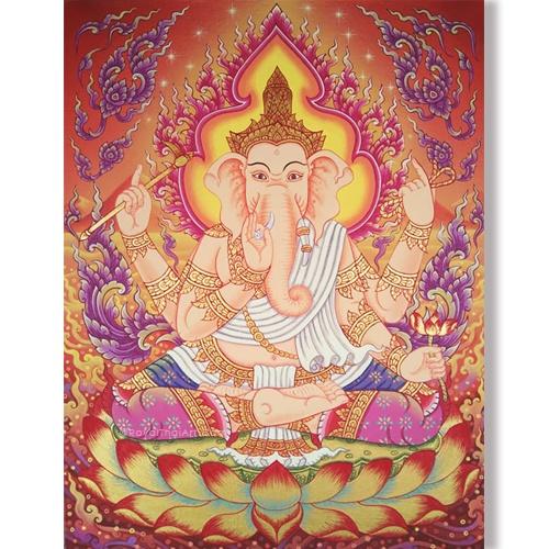traditional ganesha painting ganesha canvas painting god ganesha ganesh art abstract ganesha hindu god ganesha ganesh wall art ganesha wall painting