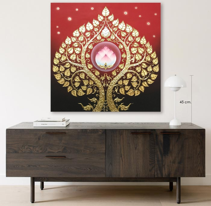 bodhi tree wall decor home interior