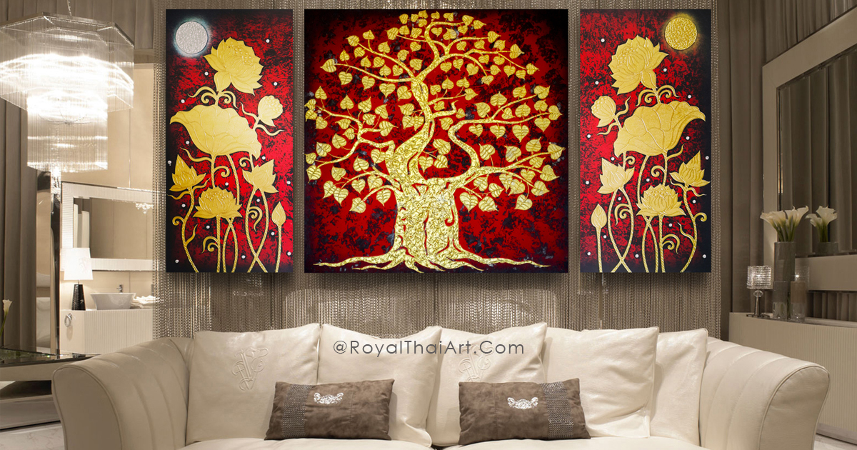 Best Thailand Arts And Asian Paintings L Royal Thai Art