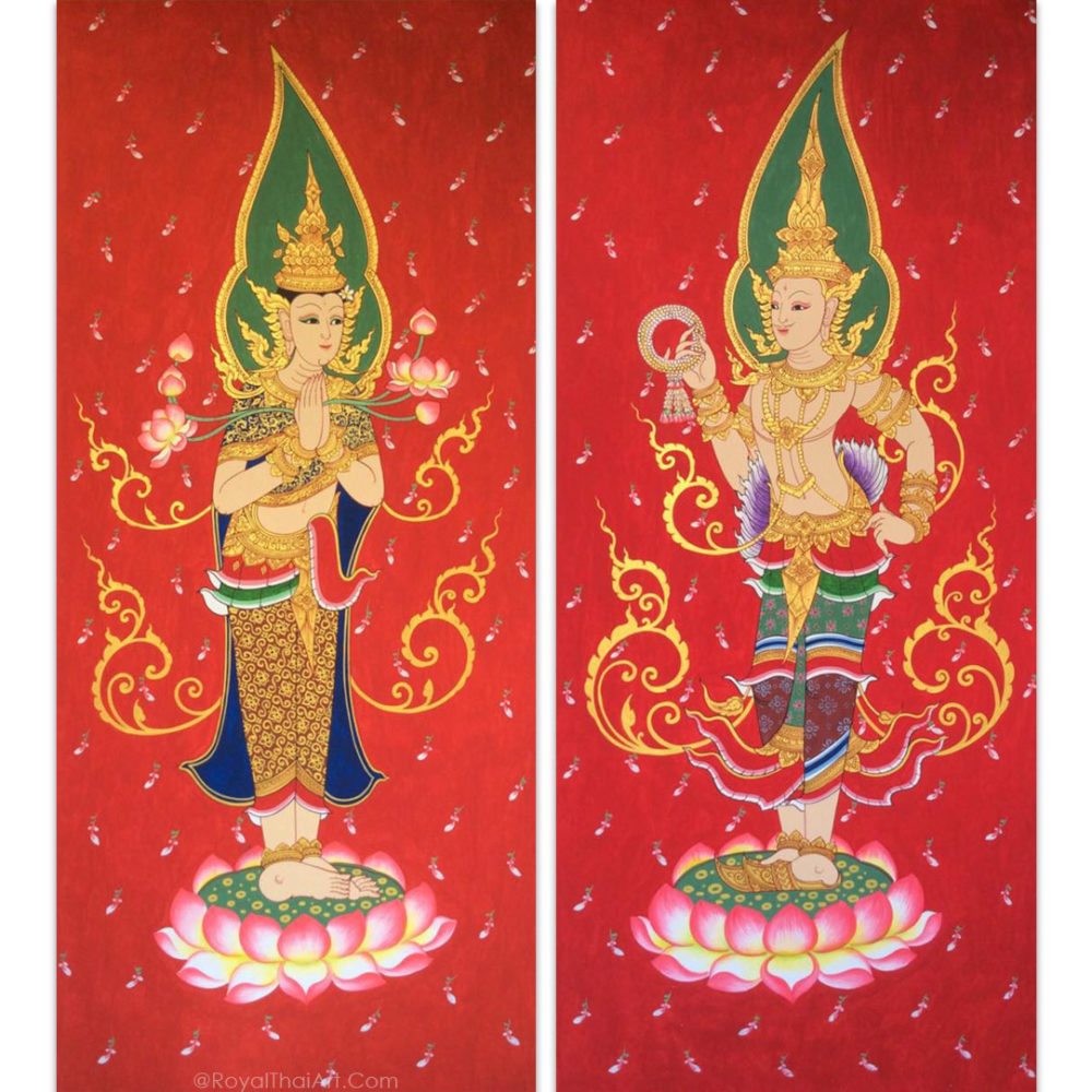 thailand traditional painting traditional art traditional oil painting traditional thai art traditional asian art traditional canvas painting